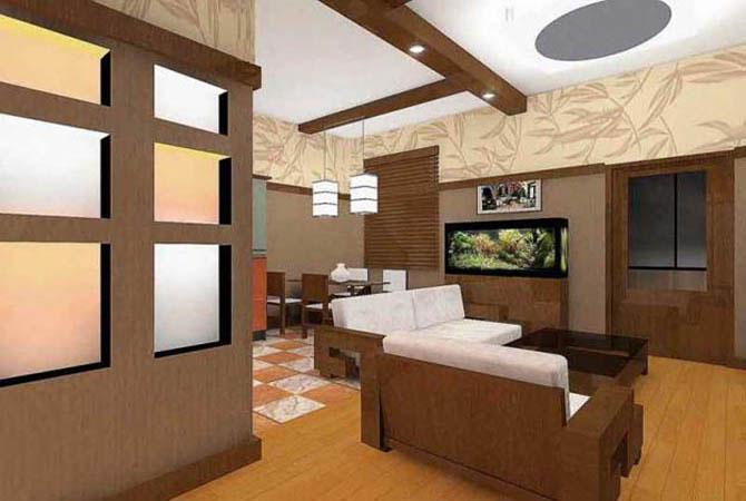 Дизайн двухкомнатной квартиры 44 кв.м