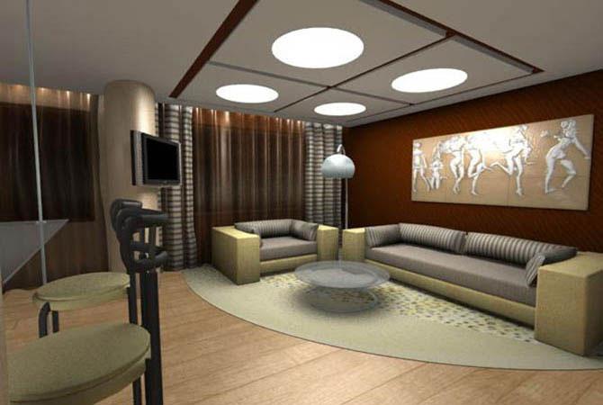 Оформить интерьер маленькой комнаты