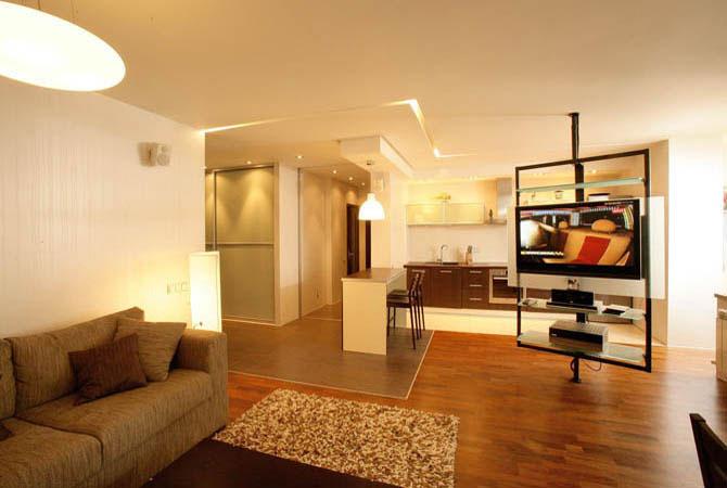 Интерьер двухкомнатной квартиры 42 кв.м