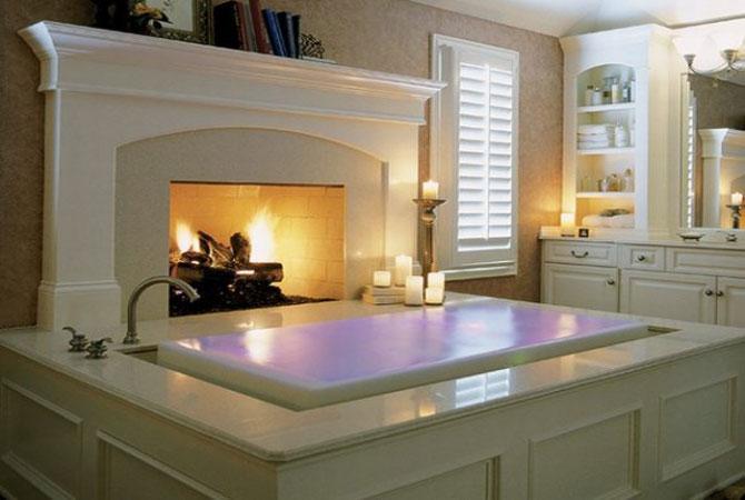 Дизайн ванной комнаты 6 кв.м фото с угловой ванной