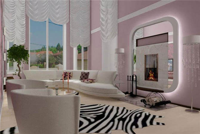Дизайн проект 2 х комнатной квартиры в